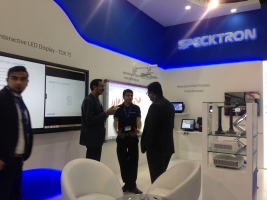 Specktron at GITEX TECHNOLOGY WEEK 2015