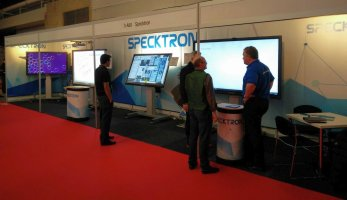 Specktron at ISE 2016, AMSTERDAM