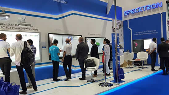Specktron at GESS 2016, DUBAI, UAE