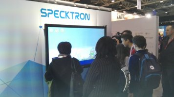 Specktron at NEW TECHNOLOGY IN EDUCATION SHOW, BELGRADE