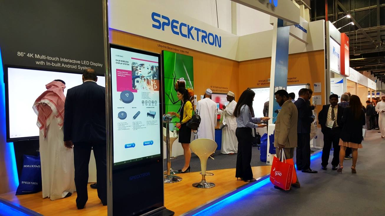 SPECKTRON AT GITEX 2017