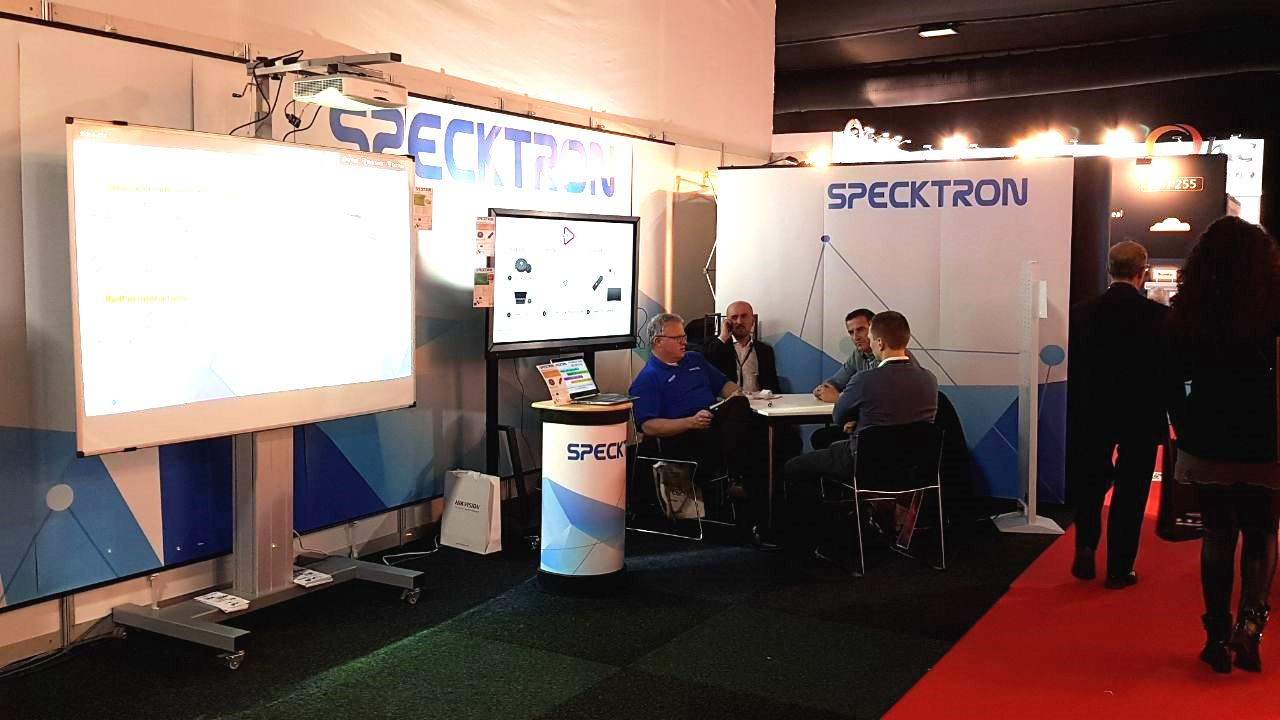 SPECKTRON AT ISE 2018
