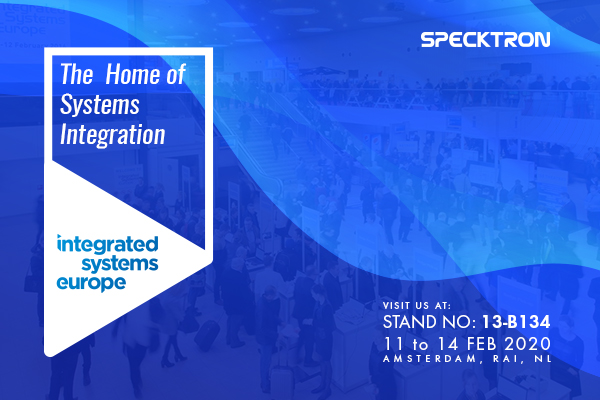 Specktron invites you to ISE 2020 in Amsterdam