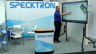 SPECKTRON AT CEBIT SHOW 2016, HANNOVER, GERMANY