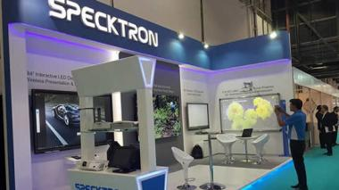 Specktron at GITEX Technology Week 2016