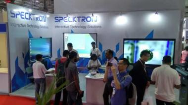 SPECKTRON AT INFOCOMM INDIA 2017