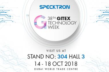 Specktron at GITEX 2018