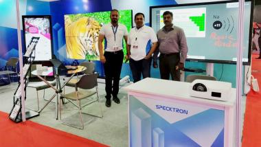 SPECKTRON AT INFOCOMM INDIA 2018