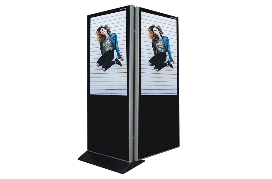 65 inch Double Sided Kiosk