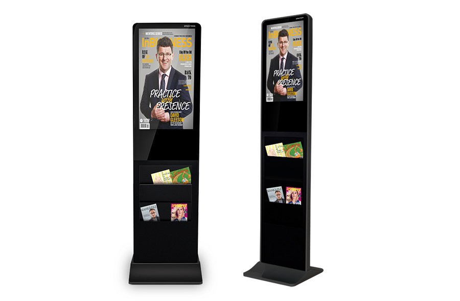 27 inch Digital Brochure Stand